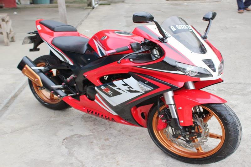 Jadikan Vixion Lebih Sporty dengan Dana Rp 40 juta
