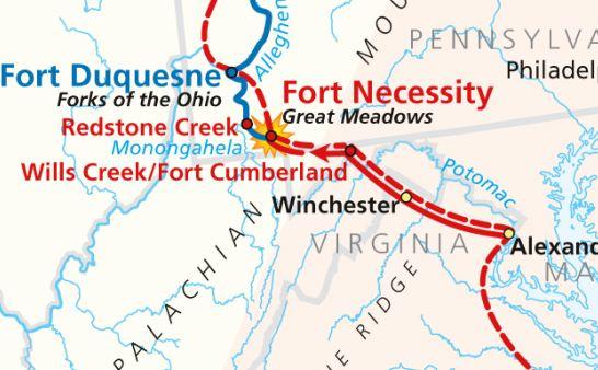 Battle of the Monongahela (Braddock's Defeat)