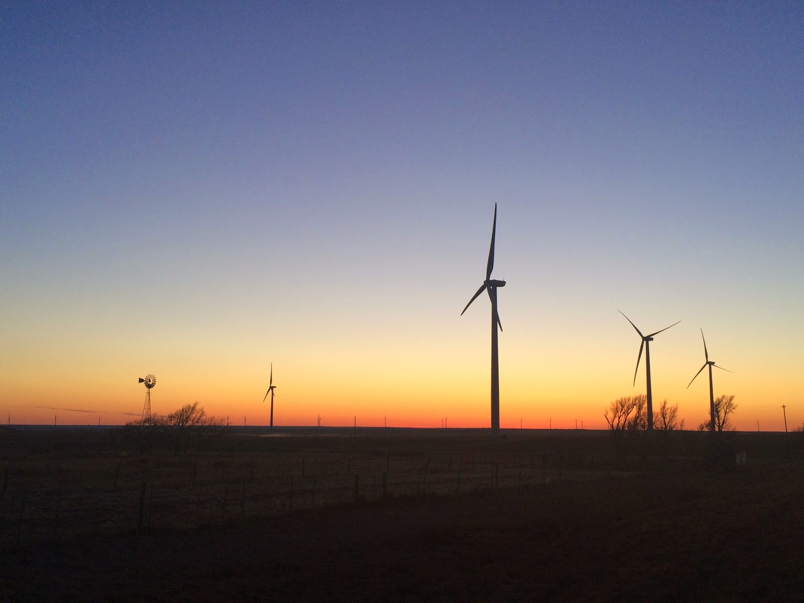 Wind energy on the plains of Kansas