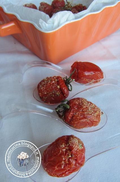 pomodorini confit ripieni