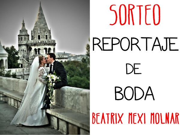 Beatrix Mexi Molnar sortea Reportaje de Boda Completo