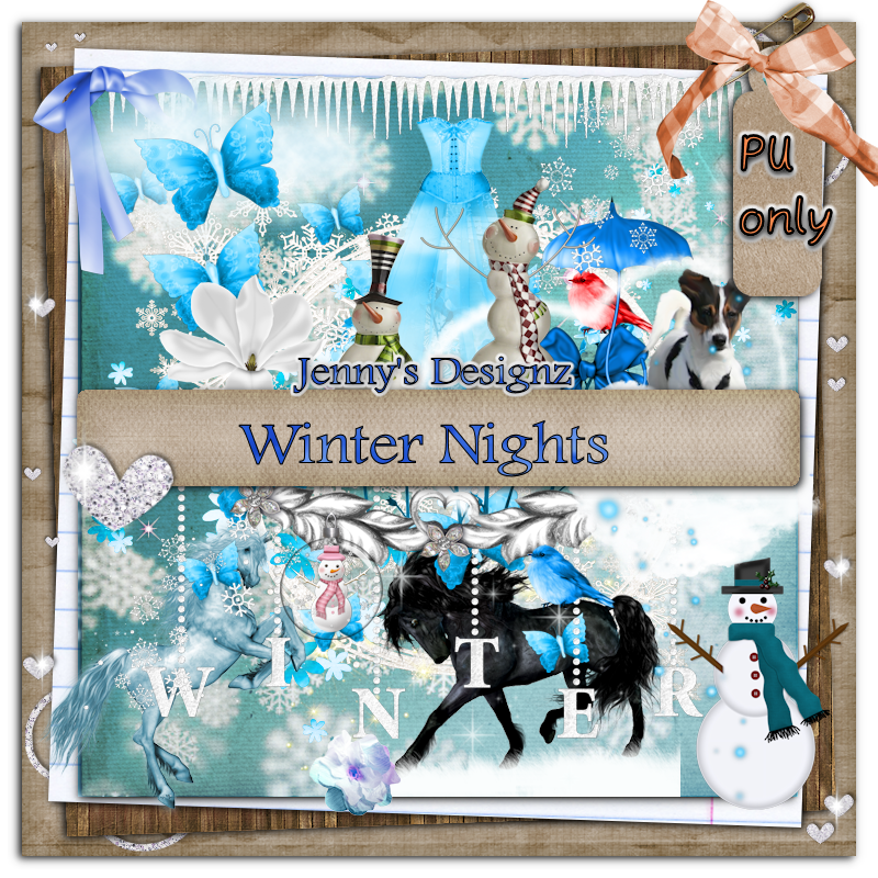 New FTU Kit: Winter Nights