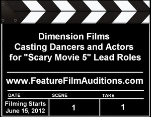 Scary Movie 5 Dancer Actor Auditions