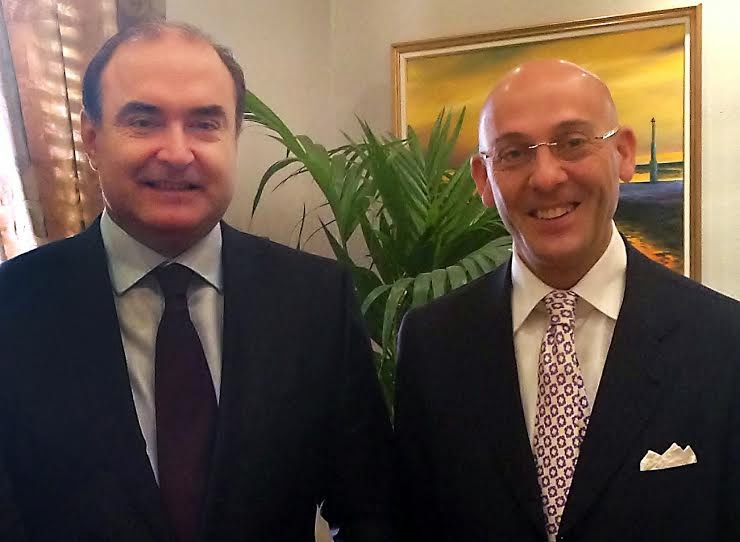 Manlio Guadagnuolo Consigliere presso governo Albania
