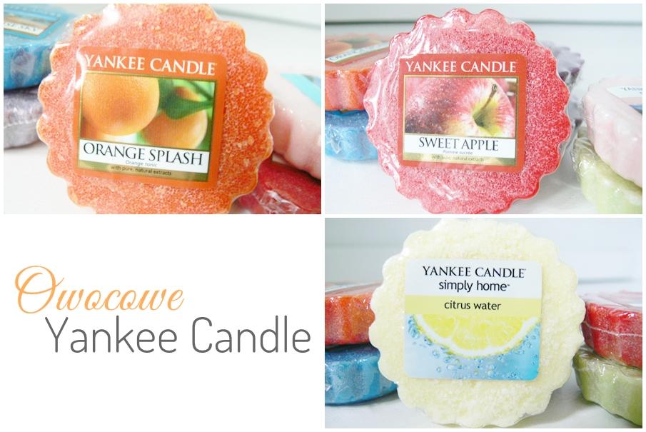 Owocowe Yankee Candle
