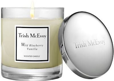Trish McEvoy, Trish McEvoy candle, Trish McEvoy Wild Blueberry Vanilla Scented Candle, candle, home fragrance
