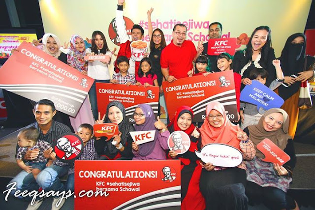 Pemenang kontes KFC Delivery #sehatisejiwa