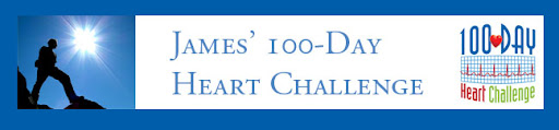 James' 100-Day Heart Challenge