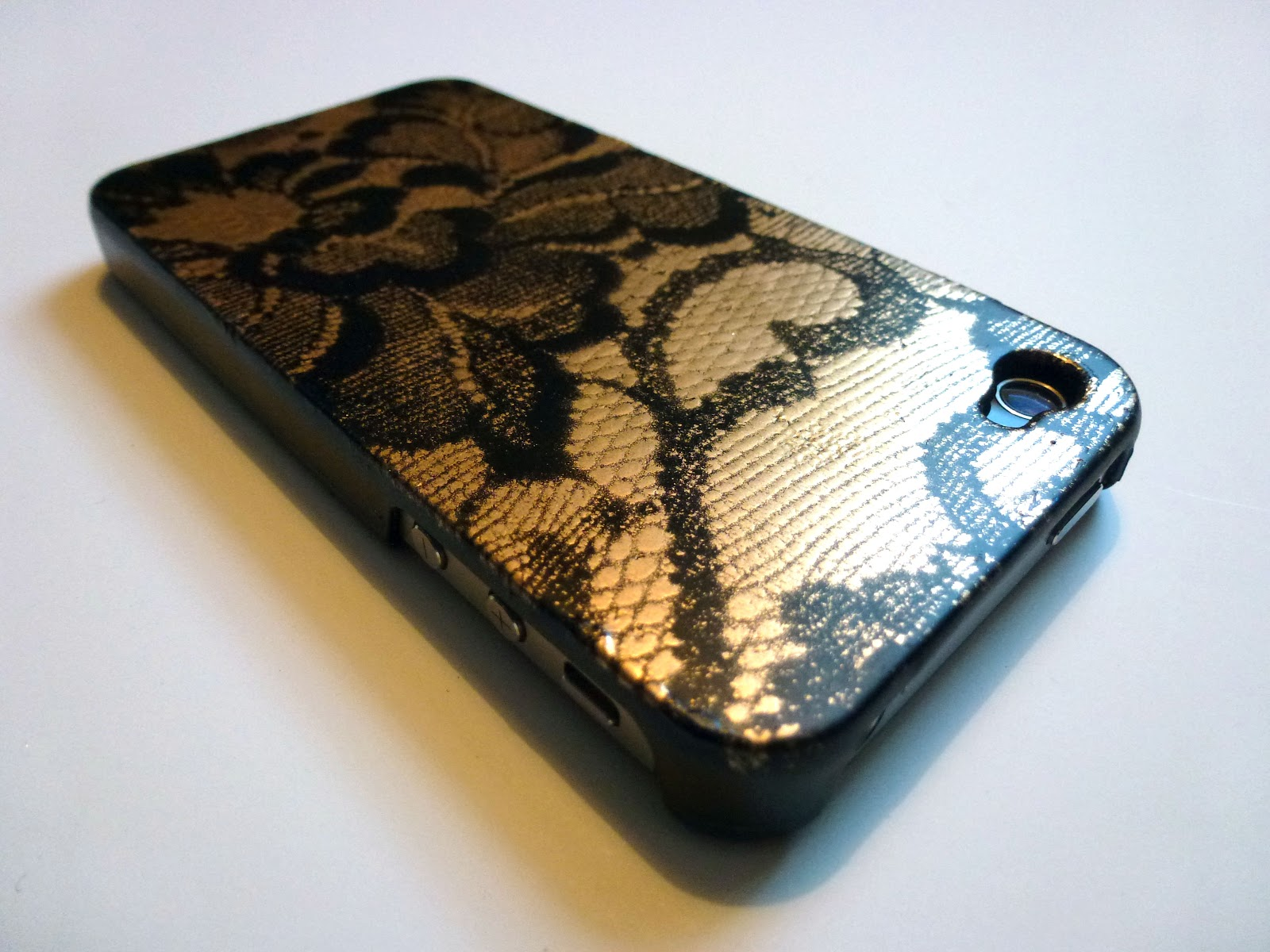 Hey look what i made lace phone case lace phone case solutioingenieria Images