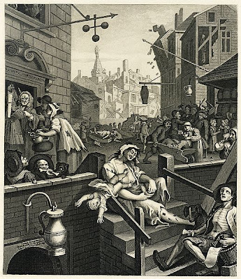 William Hogarth, Gin Lane (1751)