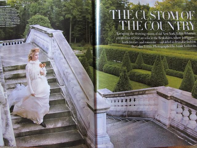 Edith Wharton mise à l'honneur dans Vogue ! IMG_8805