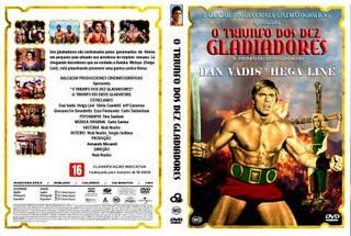 O TRIUNFO DOS DEZ GLADIADORES (1964)
