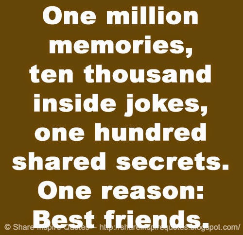 Funny Quotes About Friendship And Memories Magnificent One Million Memories Ten Thousand Inside Jokes One Hundred