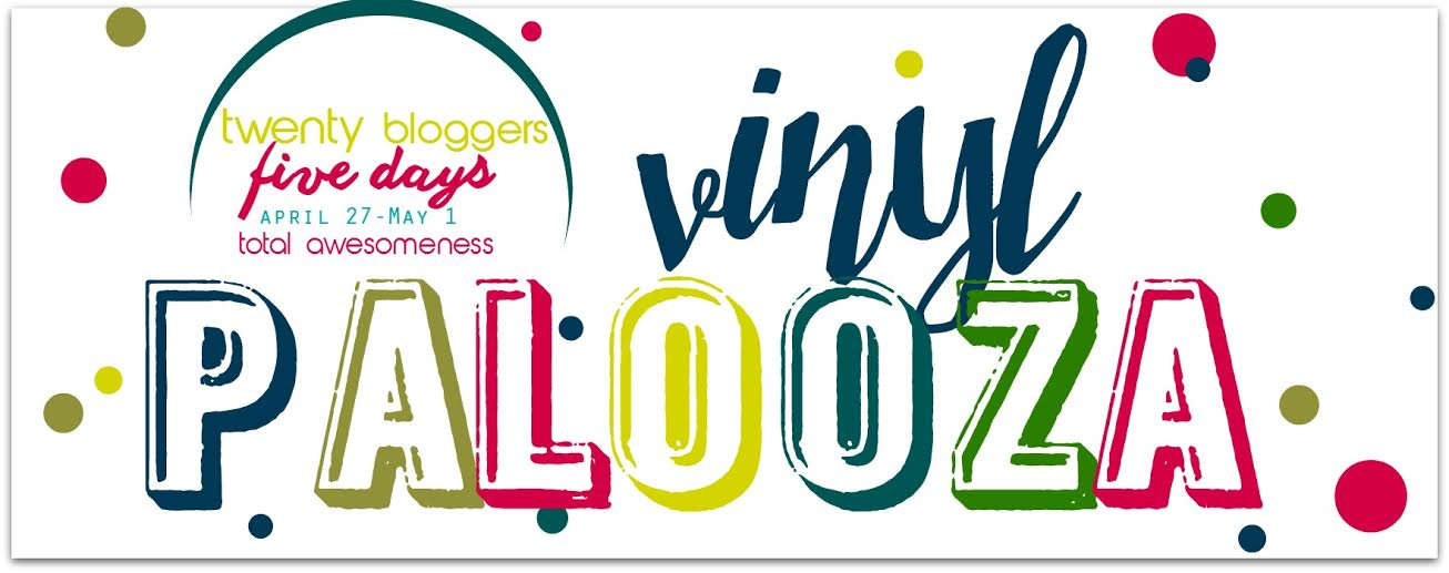 Vinyl Palooza: 20 amazing vinyl projects from 20 bloggers at artsyfartsymama.com