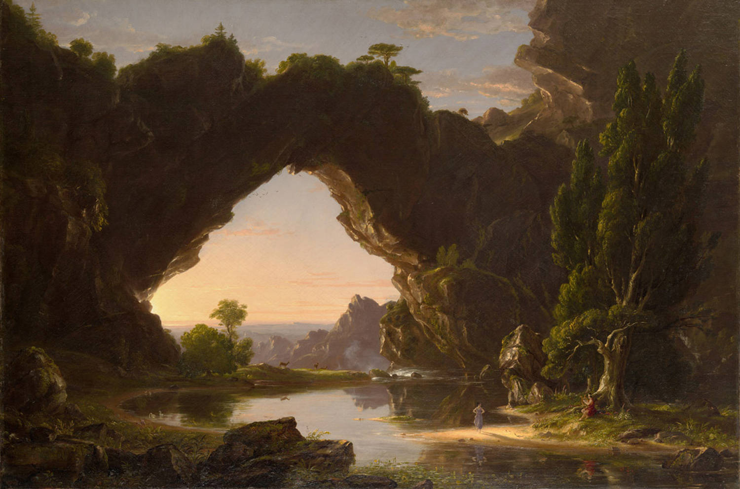 Philip Koch Paintings Thomas Cole Amp The Birth Of American Landscape