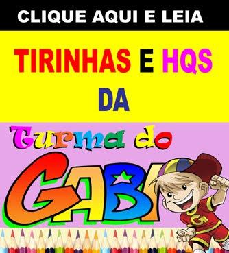 HQs da Turma do Gabi