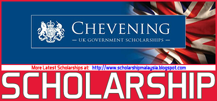 Chevening Scholarship for Master Degree