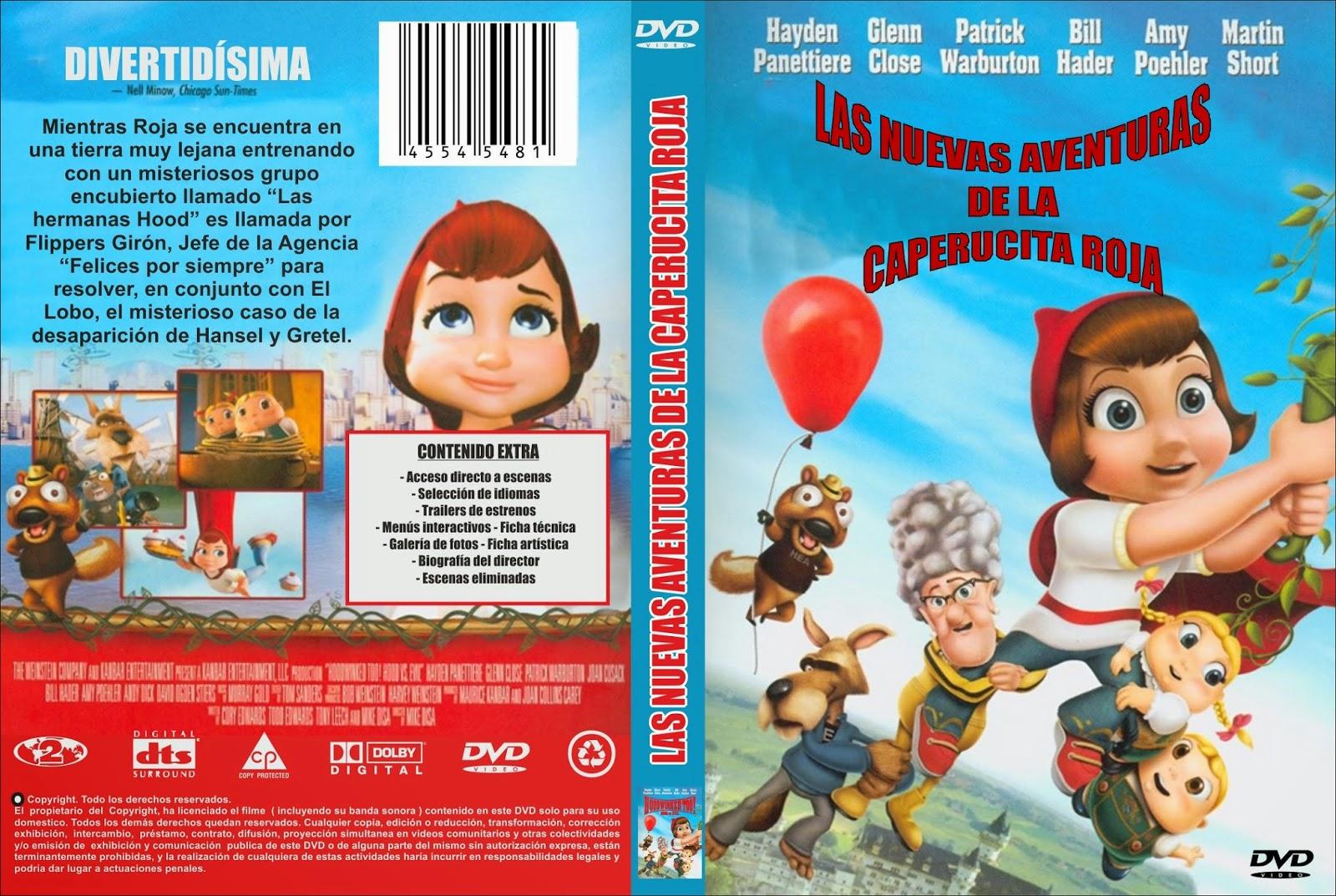 Las Nuevas Aventuras De Caperucita Roja DVD
