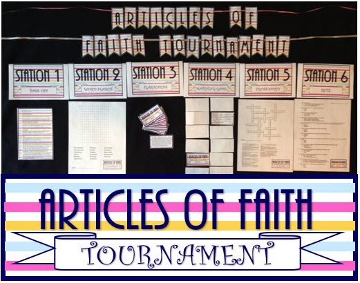 Articles Of Faith Tournament