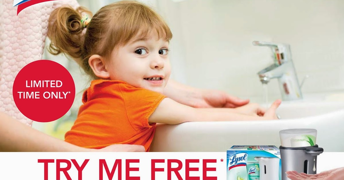 Lysol no touch coupon canada 2018