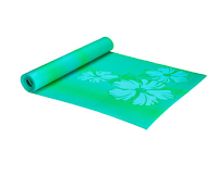 STyle Athletics Yoga Mat Fun Walmart Blue Green Hibiscus