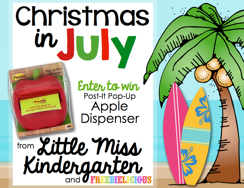 little miss kindergarten lessons from the little red schoolhouse christmas in july giveaway. Black Bedroom Furniture Sets. Home Design Ideas