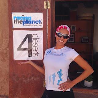 Ultramaratonista Isis Breiter