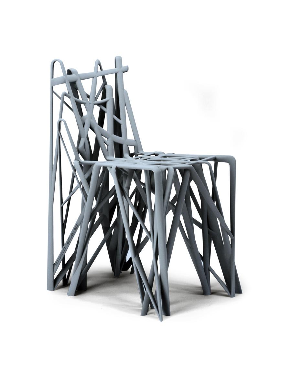 _CATABLOG_: Patrick Jouin, Solid C2 chair, 2004. SLA Synthetic Resin.