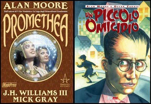 Promethea di Alan Moore e Un piccolo omicidio di Alan Moore
