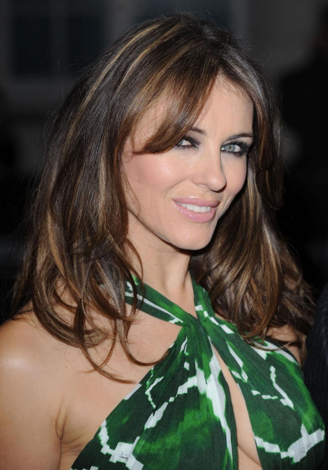 Elizabeth Hurley Hairstyle Trend Hairstyle 2014