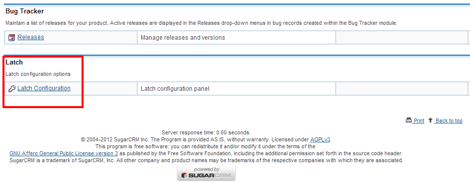 elevenpaths blog news latch plugin for sugarcrm is out