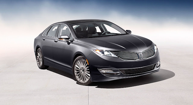 Lincoln MKZ 2013 front side