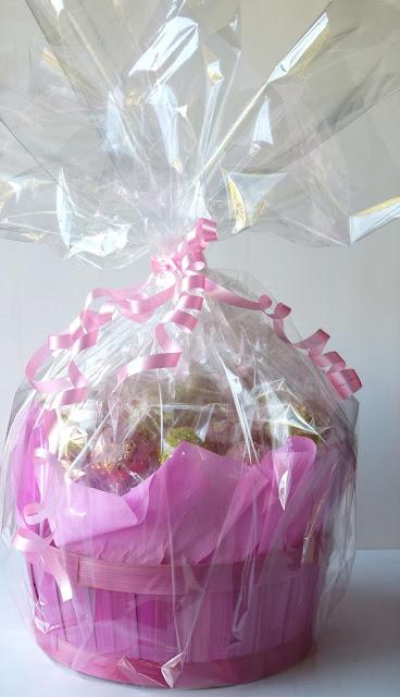 Centro de cake pops para regalo