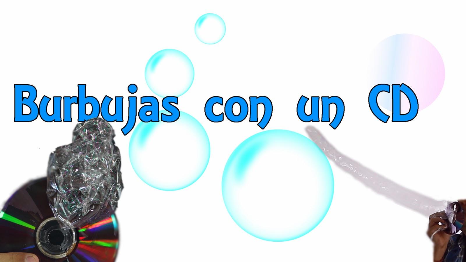 Burbujas con un CD, Experimentos caseros, experimentos, experimento, experimentos de física, invento casero, inventos, experimentos para niños, experimentos sencillos, trucos con un cd, condón de cd