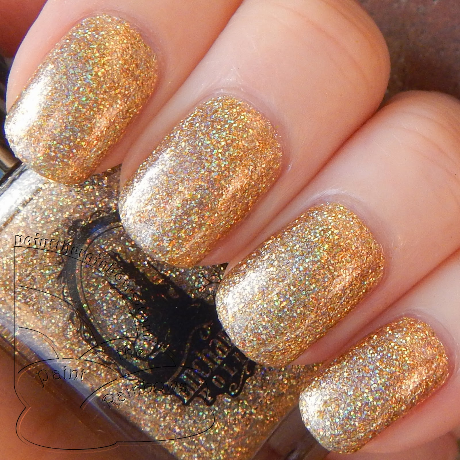 enchanted polish flashing lights