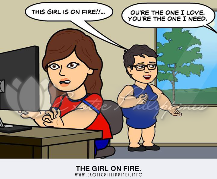 Yo Mama is so Funny - The Girl on Fire Episode 1