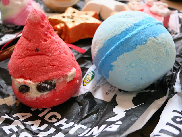 LUSH Autumn Haul 2015 Peeping Santa Frozen