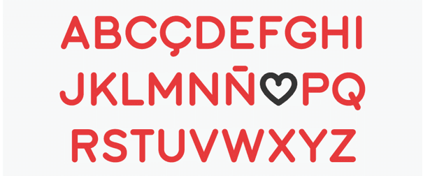 Sant Joan Despí typeface