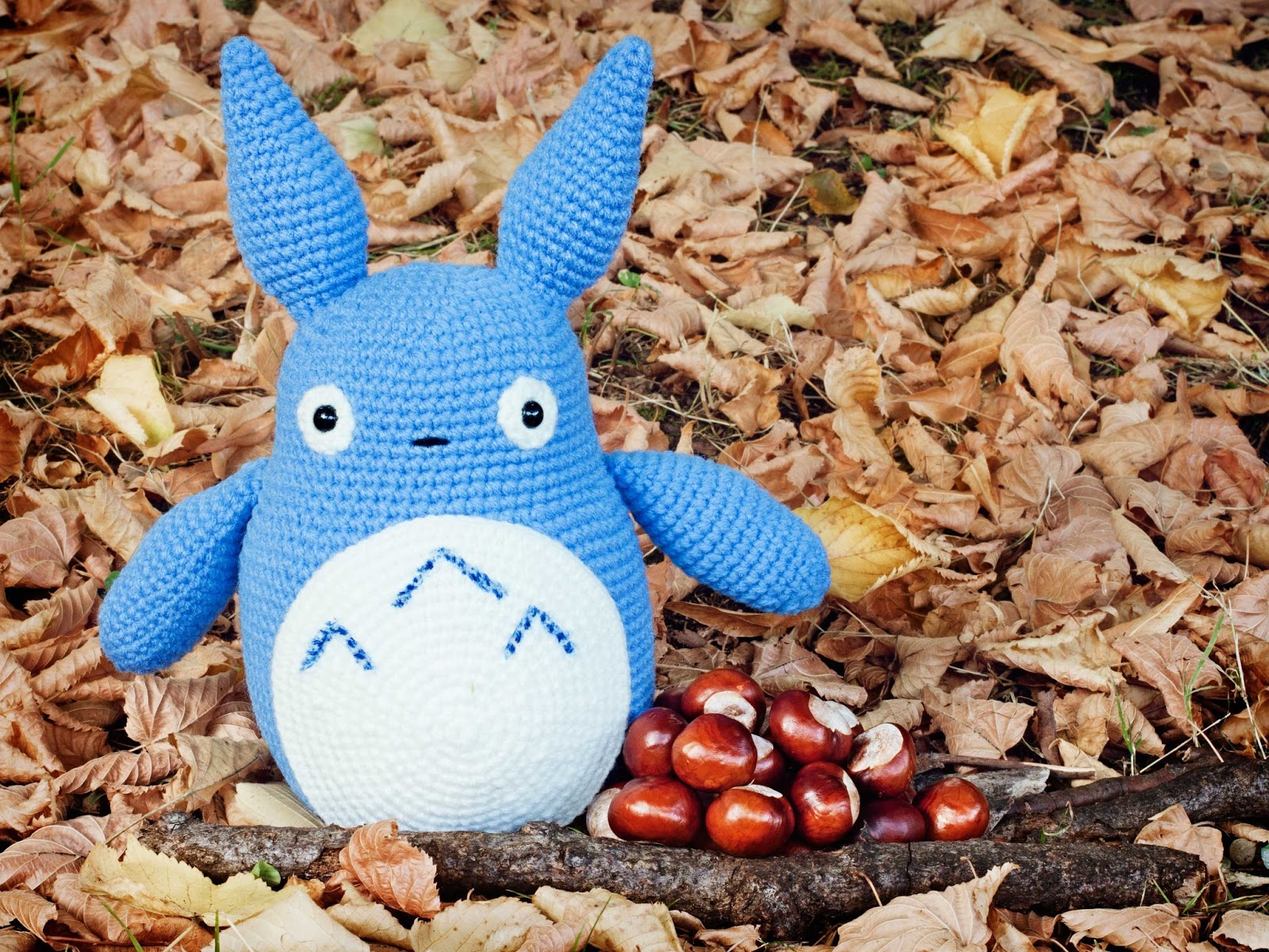 Amigurumis Totoro Patron : Mis pequicosas oto�o