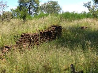 Magashulas Kraal, nu beter bekend als de Albasine Ruins