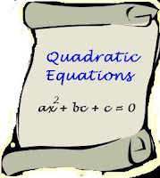 Quadratic Equation by Factorisation