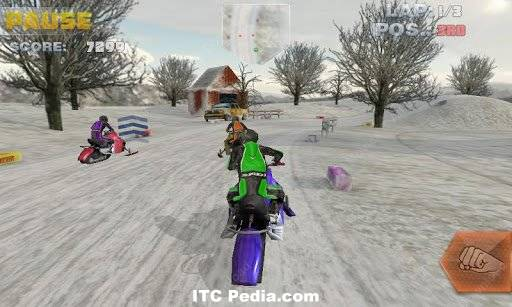 Snowbike Racing v1.0 Android - P2P