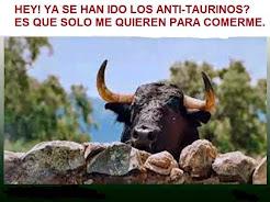 Los toros se esconden de los AntiTaurinos