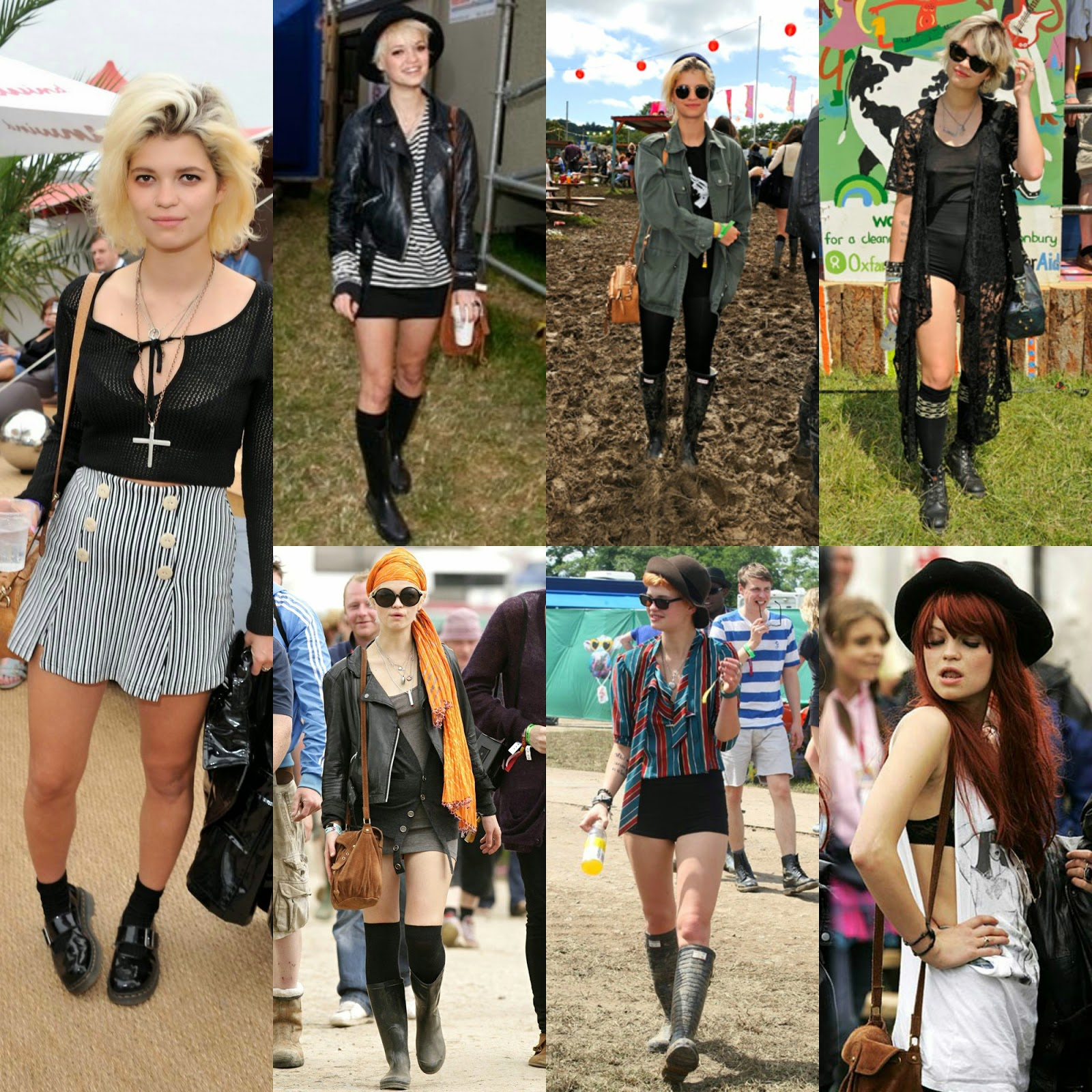 Pixie Geldof Music Festival Fashion