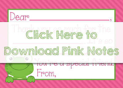 Free printable fill-in-the-blank thank you notes. Perfect for kiddos to fill in after birthdays or holidays. Choose from blue or pink. Instant download.