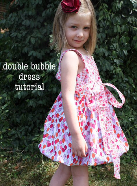 bubble dress tutorial