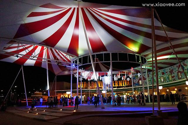 suroboyo carnival malam hari
