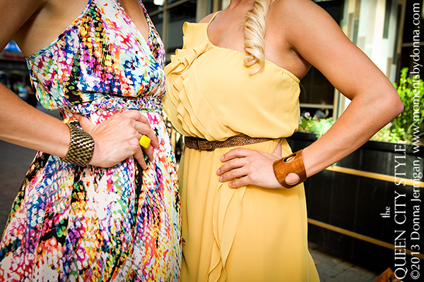 the Queen City Style, Charlotte Fashion Blog, Southern Style Blog, Charlie Jade braided maxi dress, Green Market Girl Cuff, Tasha Hussey Ring, Strike City Bowling Charlotte NC, KK Bloom Boutique, Donna Jernigan