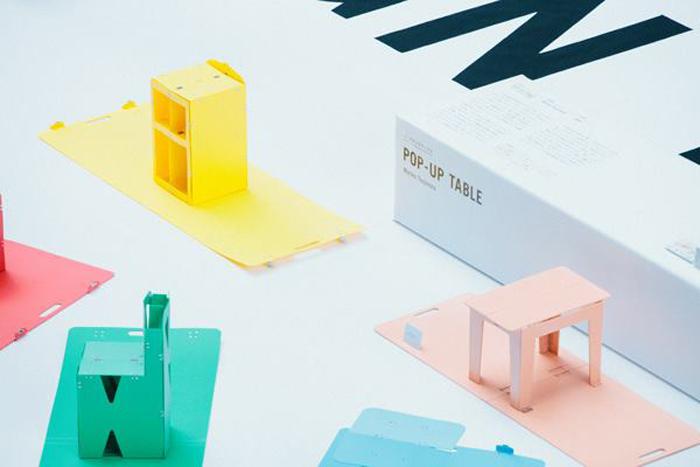 POP UP FURNITURE  design Mariko Tsujimoto