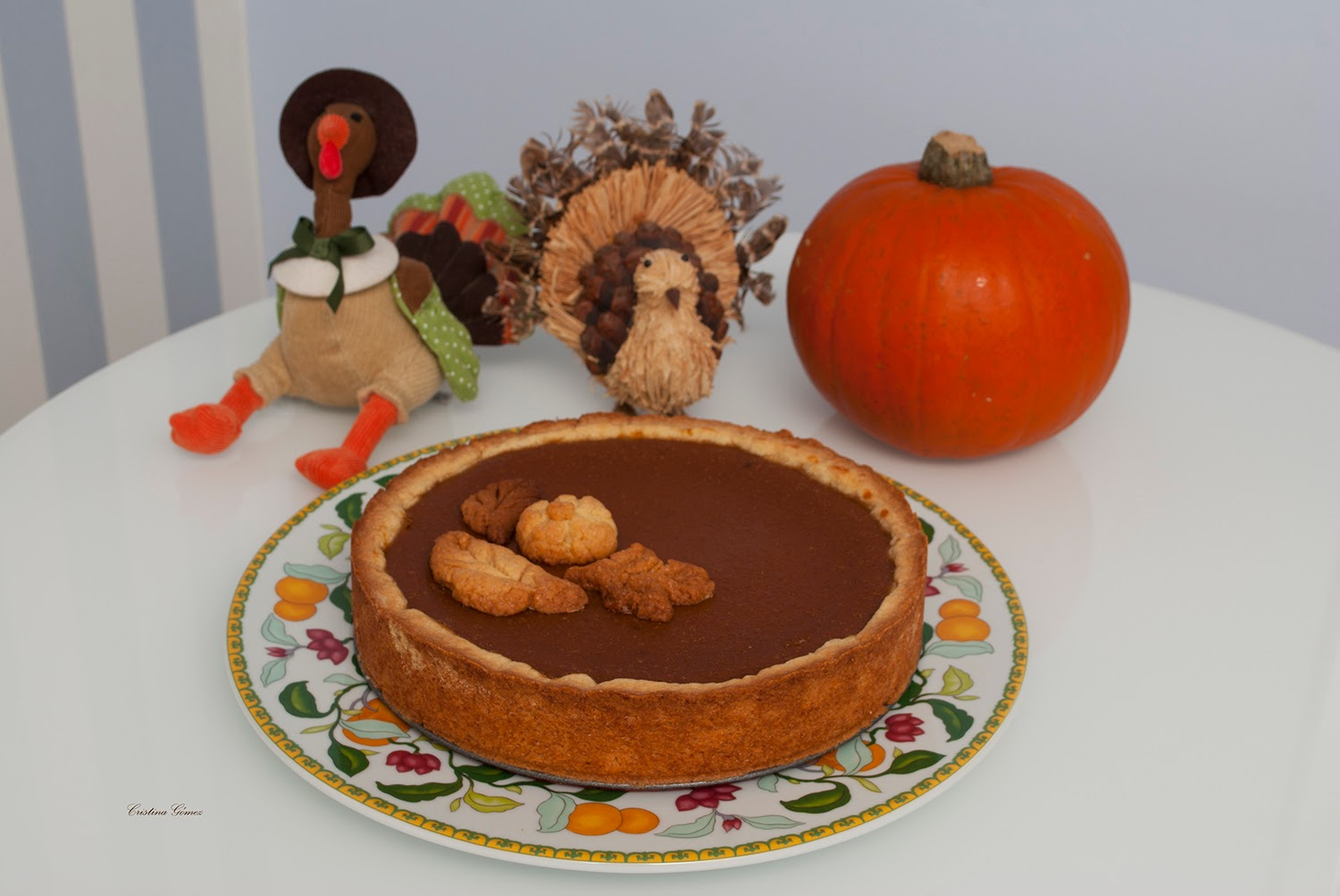 Mondays We Cook: Thanksgiving Pumpkin Pie
